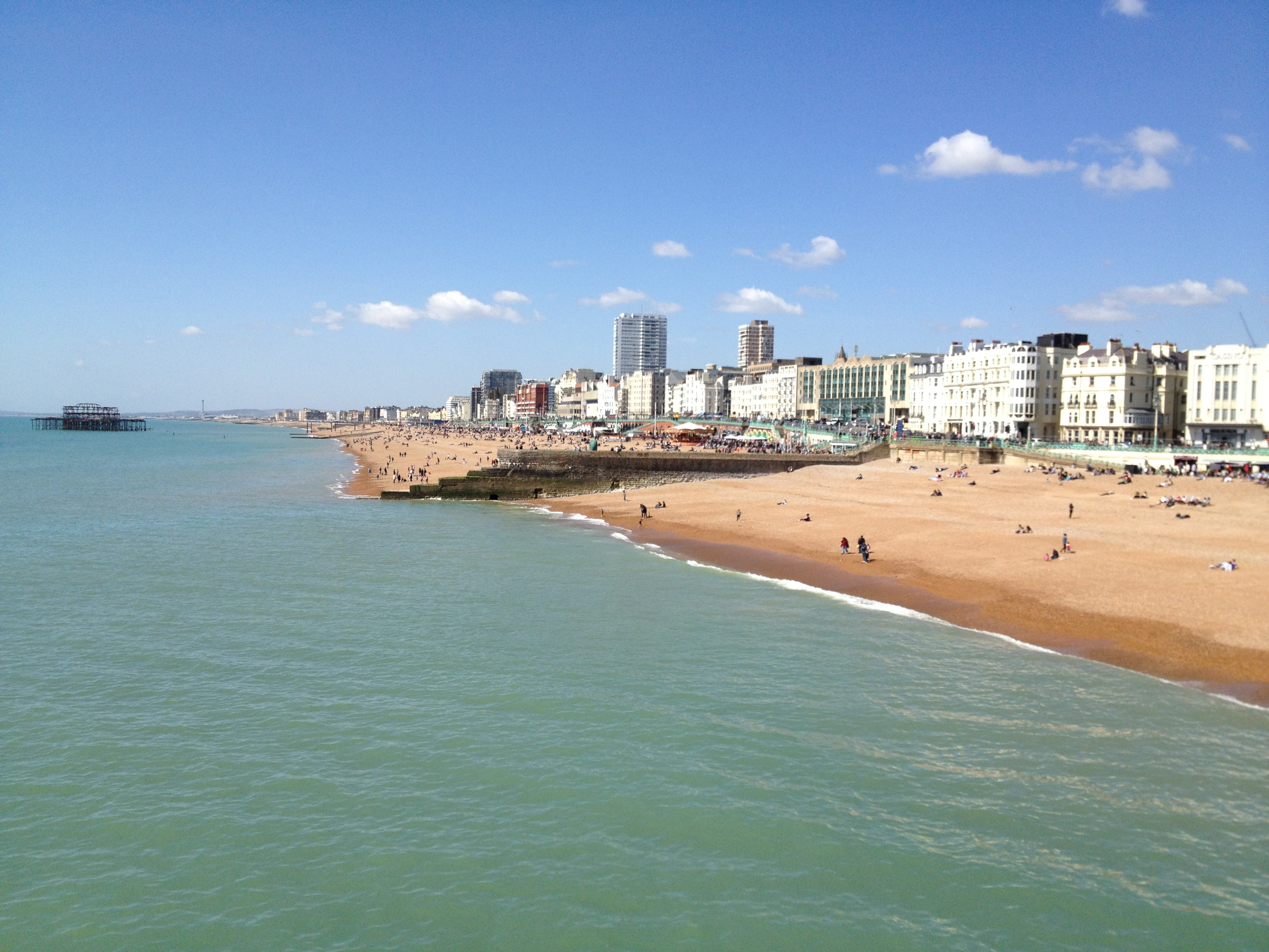 The most beautiful runs in Brighton