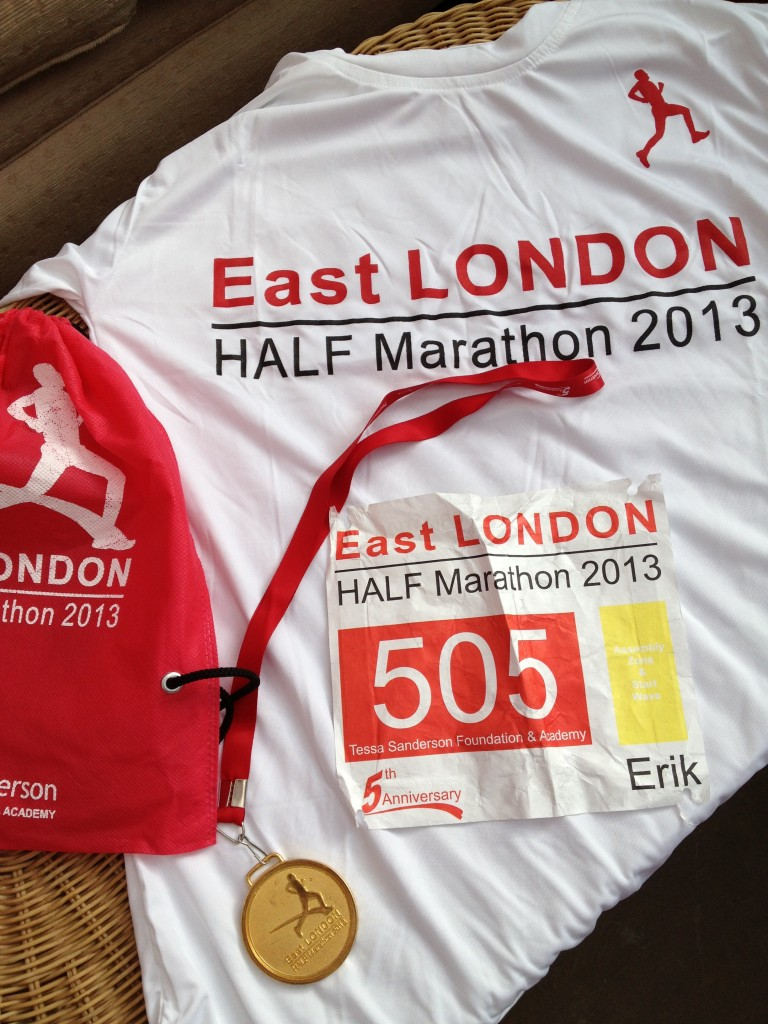 East London Half Marathon 2013 2
