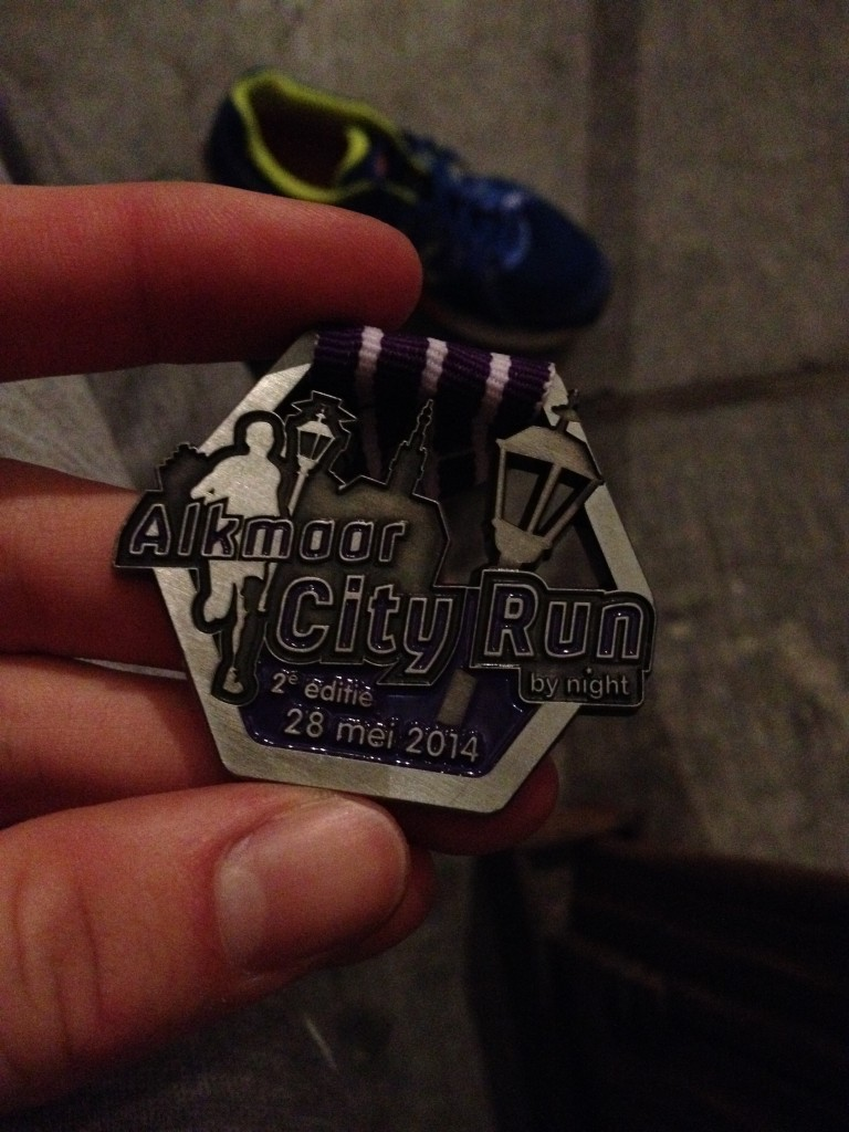 Medaille Alkmaar City Run 2014