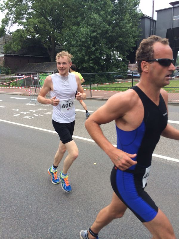 Triathlon Utrecht 2014 run 2