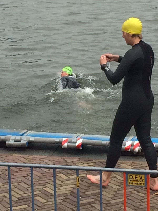 Triathlon Utrecht 2014 swim 2